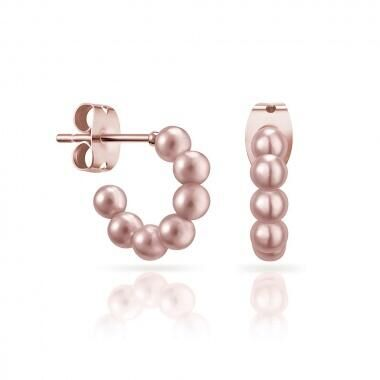 Серьги Misaki  Earrings Mini Pink EBLISSMINIPINK V/RG