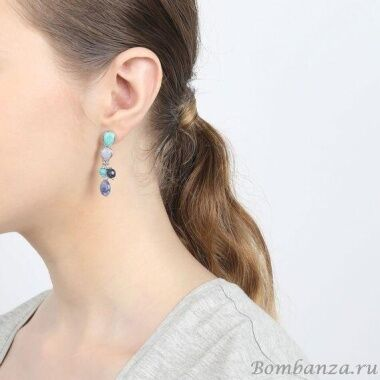 Серьги Nature Bijoux Blue stones  NB20.2-12-75109_3305