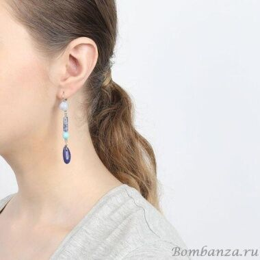 Серьги Nature Bijoux Blue stones  NB20.2-12-75105_3268