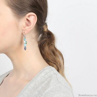 Серьги Nature Bijoux Blue stones  NB20.2-12-75101_3220